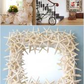 Làm đẹp nhà sử dụng vỏ ốc, vỏ sò, sao biển …