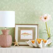 Tận dụng vỏ ốc, vỏ sò tinh tế để nhà thêm đẹp