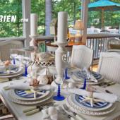 Handmade khăn ăn cho đám cưới biển
