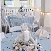 Những tông màu cho đám cưới biển