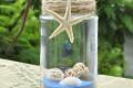 Đèn nến lọ thủy tinh – vỏ sò ốc DNTT_01