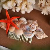 Lược cài tóc vỏ sò vỏ ốc LCT05