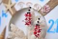 Bông tai san hô đỏ & trai trắng BTVO_06