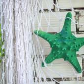 Sao biển gai lớn màu xanh lá