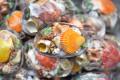 Gói vỏ sò ốc đủ loại đế trai đen