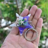 Móc khoá vỏ sò ốc – sao biển MK_04