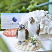 Cặp chim cánh cụt ốc mỡ trắng QLN_43