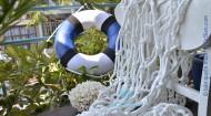 Lưới cá trang trí đường kính dây 1cm