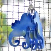 Cá ngựa xanh phong cách biển 20cm TAG07