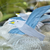 Chim hải âu trang trí biển TAG11