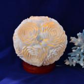 Đèn để bàn vỏ sò ốc kết hoa (tròn) ĐN47