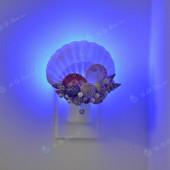 Đèn ngủ cắm tường vỏ sò điệp DN54