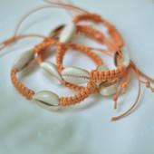 Lắc tay vỏ ốc nga dây cam LDT57