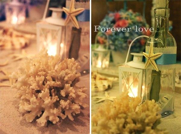 Những vật dụng nhỏ xinh nhưng lại rất hòa hợp với không gian đám cưới.