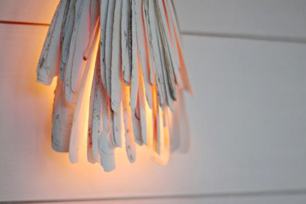 Kiểu đèn này thích hợp dùng trong phòng khách, phòng ngủ, hiên nhà...