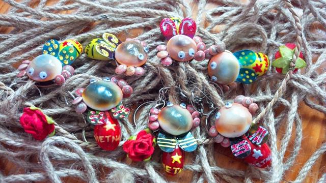 Những món quà handmade ngộ nghĩnh từ vỏ ốc biển