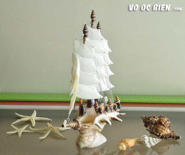 Thuyền Buồm Vỏ Ốc TB01