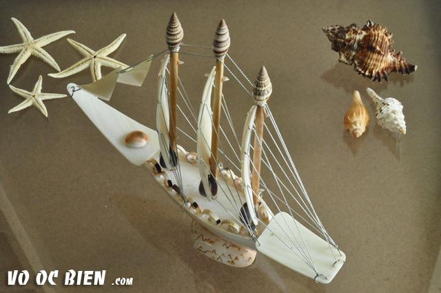 Thuyền Buồm Vỏ Ốc TB02