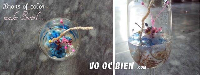chế keo sáp dạng loãn vào ly