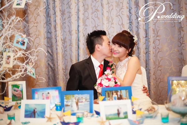 Đem sắc biển vào đám cưới