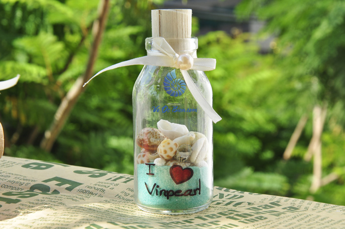 In lời nhắn cho khu du lịch VinPearl - Nha Trang