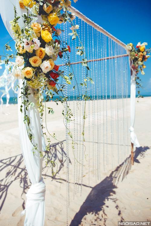 Chuyên gia tư vấn: Chuẩn bị đám cưới ở biển Hồ Tràm P.2