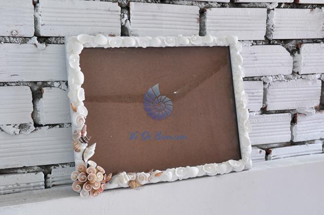 Khung ảnh vỏ sò vỏ ốc (30×40) KA40
