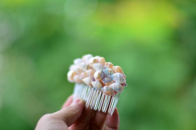 Lược cài tóc vỏ sò vỏ ốc LCT10 – © bản quyền hình ảnh thuộc VoOcBien