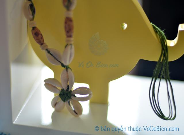 Dây chuyền vỏ sò ốc nga DC06 - bản quyền hình ảnh thuộc VoOcBien.com