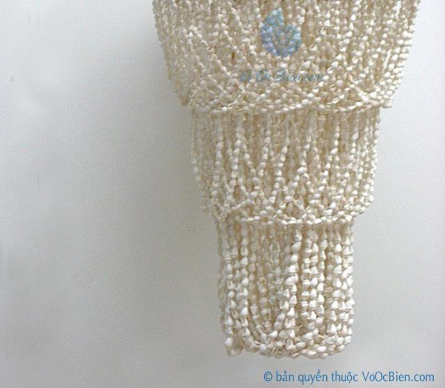Đèn treo trần dây ốc 3 tầng - © bản quyền hình ảnh thuộc VoOcBien.com