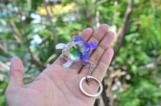 Móc khoá vỏ sò ốc – rùa biển MK_02