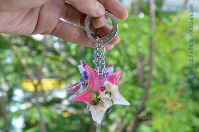 Móc khoá vỏ sò ốc - nhựa MK_04 - © bản quyền hình ảnh thuộc VoOcBien.com