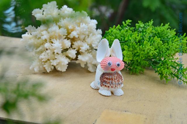 Chú thỏ vỏ sò ốc QLN_24