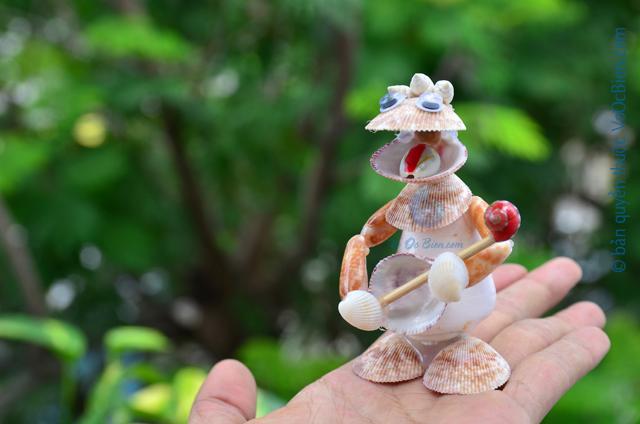 Nhân vật Pocket Đánh Đàn Vỏ Sò Ốc QLN_32
