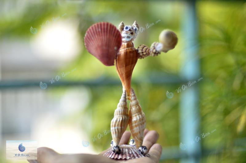 Robot vỏ sò ốc biển QLN54