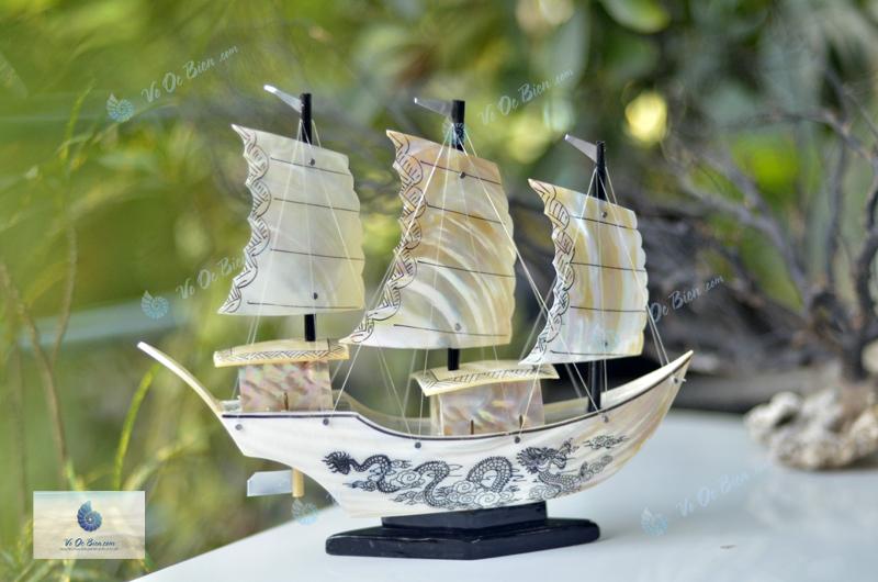 Thuyền rồng vỏ trai biển trung TB32